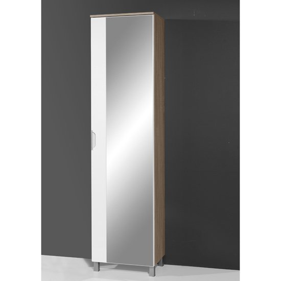 Gallery For Tall Bathroom Cabinet