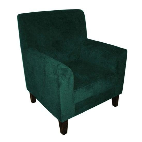 Medan Teal Velvet Accent Chair Buy Lounge Relaxer Chair Furnitur