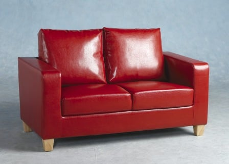tempo two seater red - Finding A Great Sofa For Small Spaces