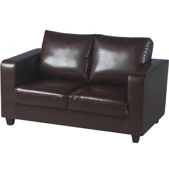 tempo sofa in a box brn - The Pros And Cons To Buying Leather Sofa Versus Fabric Sofa