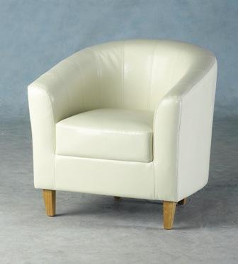Tempo Tub Chair In Cream