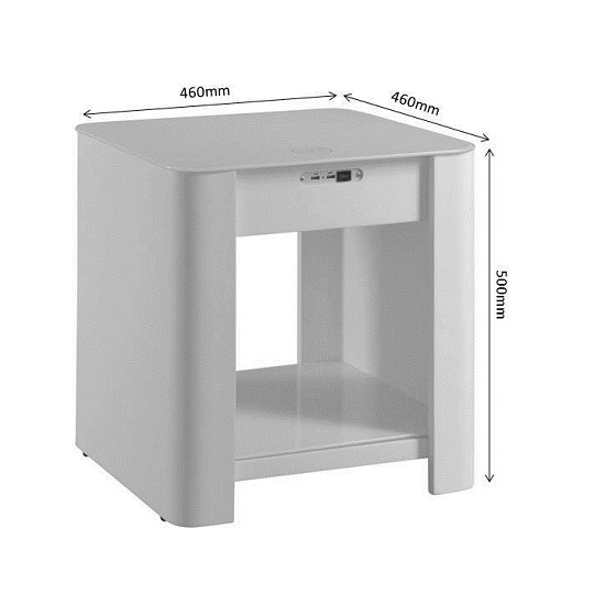 Terrence Smart Bedside Cabinet In White With Speaker_4