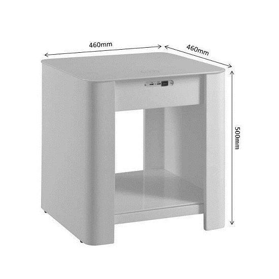 Terrence Smart Bedside Cabinet In White Without Speaker_4