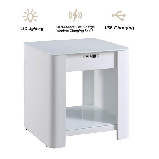 Terrence Smart Bedside Cabinet In White Without Speaker_6
