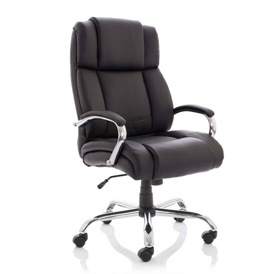 View Texas hd leather executive office chair in black