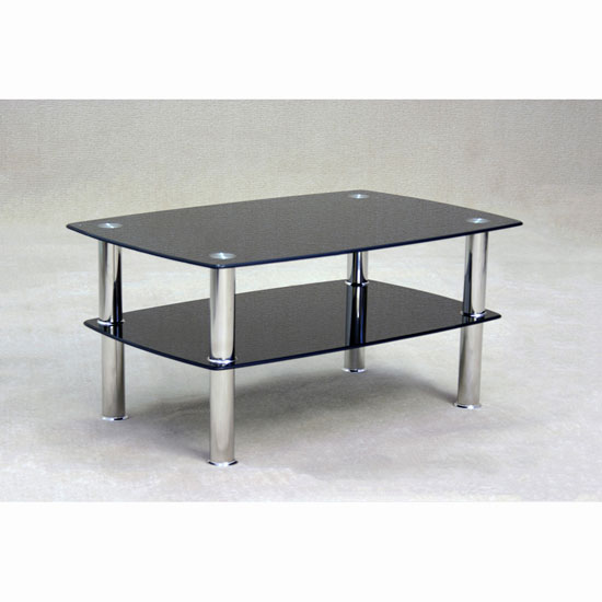 black and glass coffee table | top-tuto
