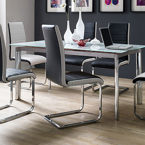 top black white leather dining chair - 8 Simple Ideas On Choosing Dining Chairs With Handles