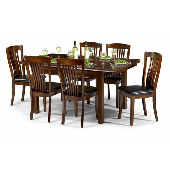 traditional wooden dining set - Decorating Interior Design Ideas For Victorian House