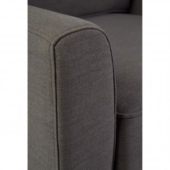 Trento Fabric Armchair In Grey_5