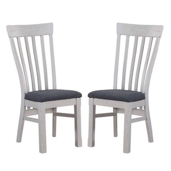 Trevino Wooden Dining Chairs In Antique Grey In A Pair_1