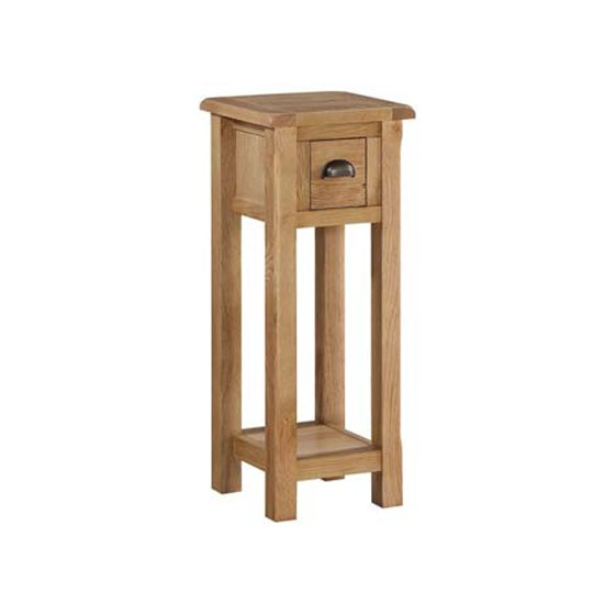 Trevino End Table In Oak With 1 Drawer_2