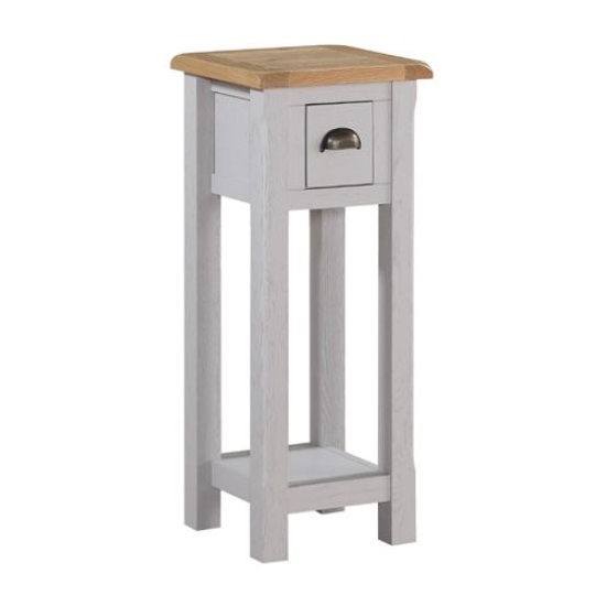 Trevino Telephone Table In Antique Grey Painted_1