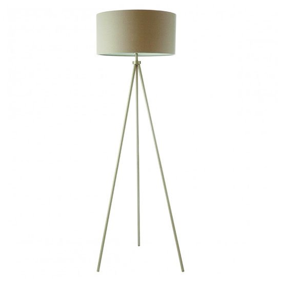 View Tri floor lamp in gold