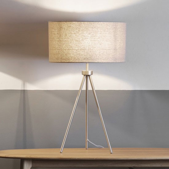 Tri Table Lamp In Gold