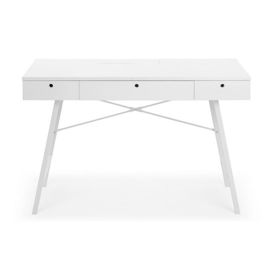 Trianon Wooden Laptop Desk In White_2