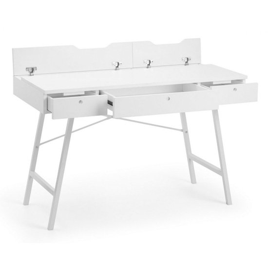 Trianon Wooden Laptop Desk In White_3