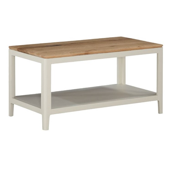 Trimble Coffee Table In Spanish White Painted