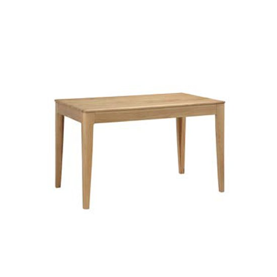 Trimble Wooden Dining Table In Oak