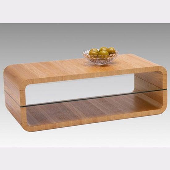 Triton Brushed Ash Veneer Coffee Table
