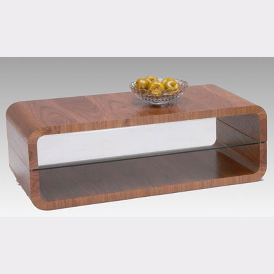 Triton Walnut Veneer Coffee Table 10988 Furniture In