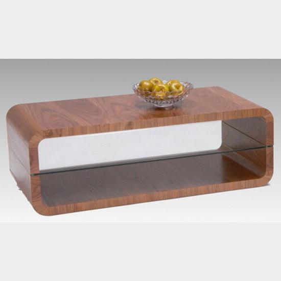 Triton Walnut Veneer Coffee Table
