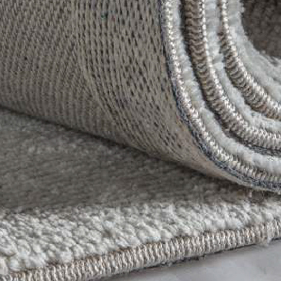 Trivago Medium Fabric Upholstered Rug In Silver_2