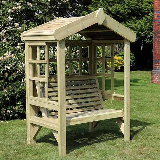 Tromin Wooden Cottage 2 Seater Arbour