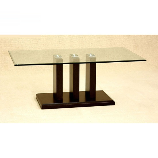 Troy Clear Glass Coffee Table