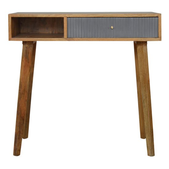 Tufa Wooden Study Desk In Grey And Oak Ish_2