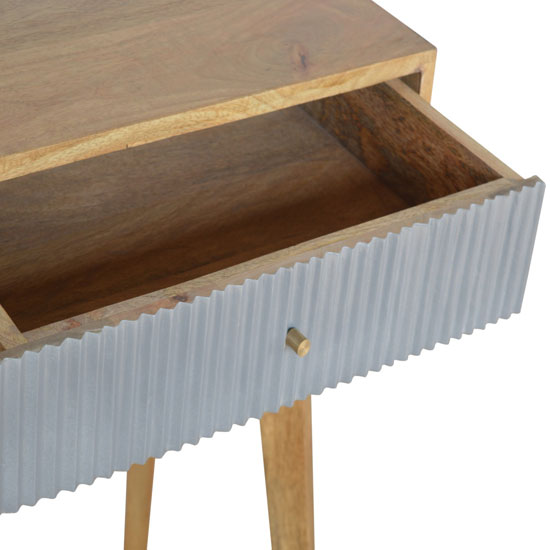 Tufa Wooden Study Desk In Grey And Oak Ish_3