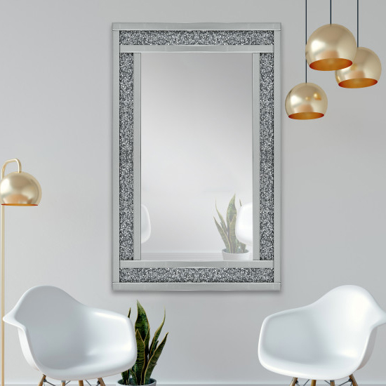 Tuturano Designer Rectangular Wall Mirror