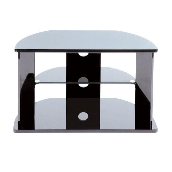Universal High Gloss Black Tv Stand