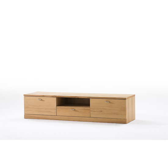Madea Wooden Lowboard TV Stand With 3 Doors