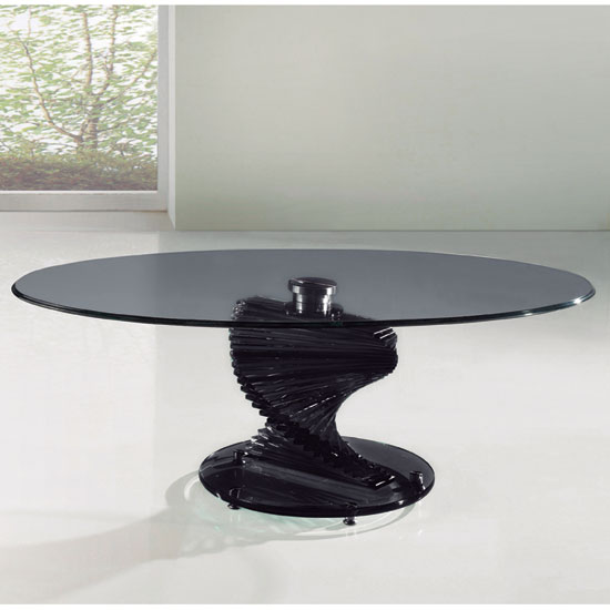 Oval glass coffee table shop for cheap tables and save for Oval glass coffee table