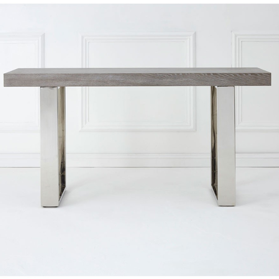 Ulmos Rectangular Wooden Console Table In Muted Grey_2