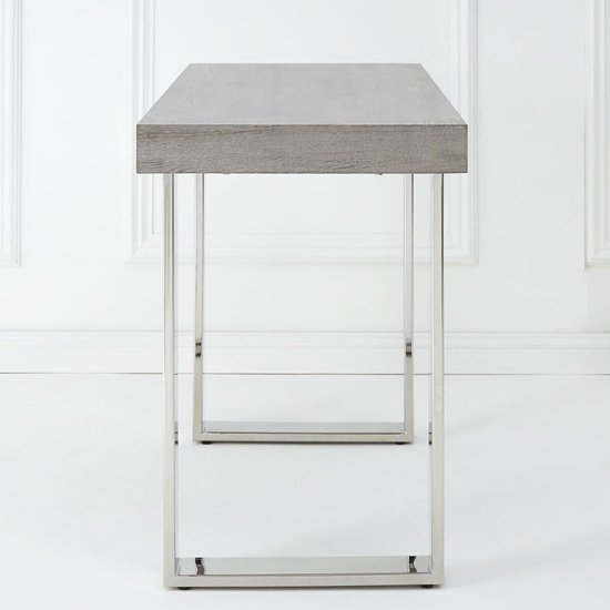 Ulmos Rectangular Wooden Console Table In Muted Grey_3