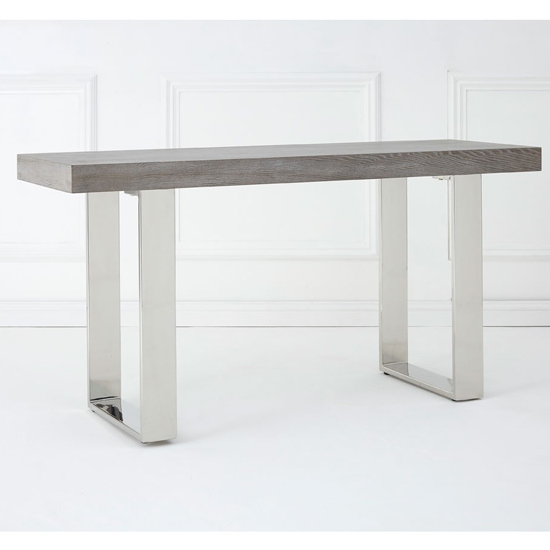 Ulmos Rectangular Wooden Console Table In Muted Grey_1