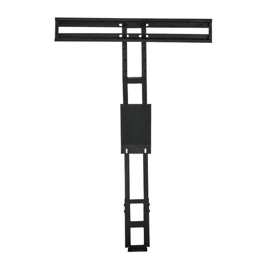 Unifit Metal Wall Mounted TV Bracket In Black