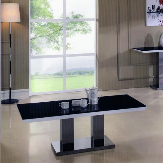 Dune Gloss White Coffee Table