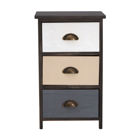 Riley Small Chest Of Drawers With Multicolours Drawers_2