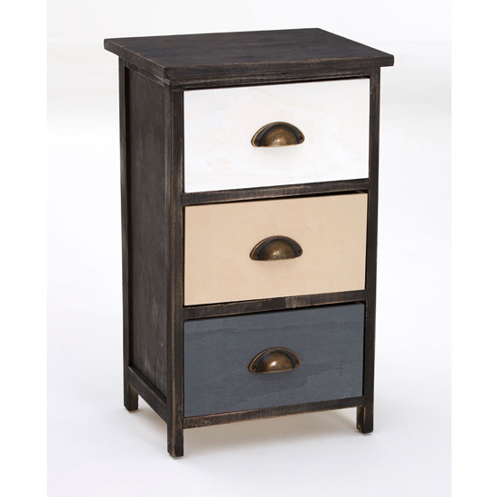 Riley Small Chest Of Drawers With Multicolours Drawers_3