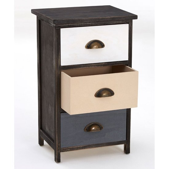 Riley Small Chest Of Drawers With Multicolours Drawers_5