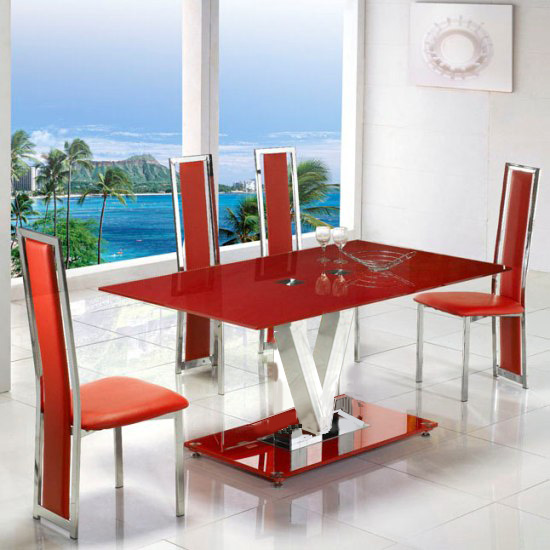 V Range Dining Set