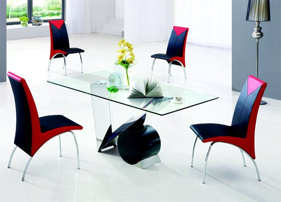 valentino dining table 6 61 - Kitchen Dining Tables and Chairs