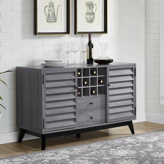 Vaughn Wooden Wine Cabinet In Grey Oak_2