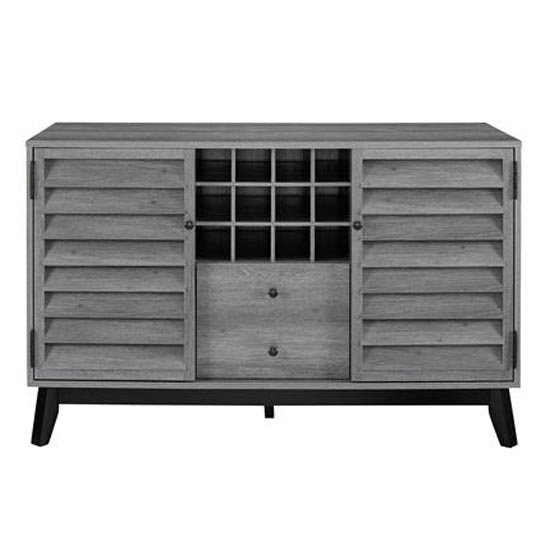 Vaughn Wooden Wine Cabinet In Grey Oak_4