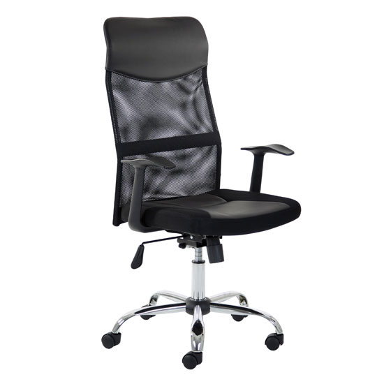Vegalite Mesh Executive Office Chair In Black