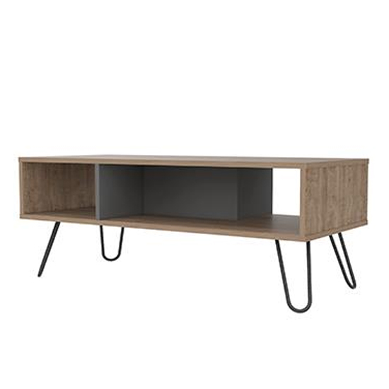 Vegas Coffee Table In Bleached Oak and Grey_1