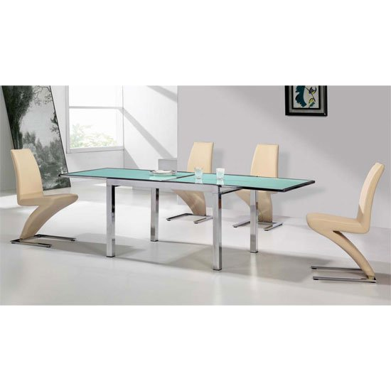 Best extending glass dining table and chairs prices in  : vegasF ext dining set6Zch from www.priceinspector.co.uk size 550 x 550 jpeg 26kB