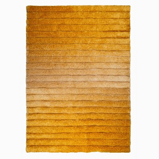 Verge Ombre Ochre Rug 39059 Furniture In Fashion